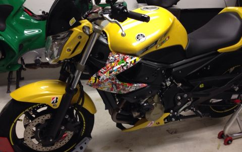 Yamaha Stickerbomb